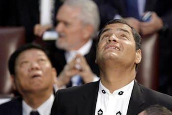 Gracias Rafael Correa