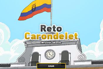 Reto Carondelet: Juega a ser presidente de Ecuador