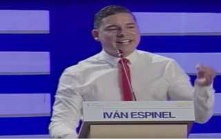 Candidato Iván Espinel