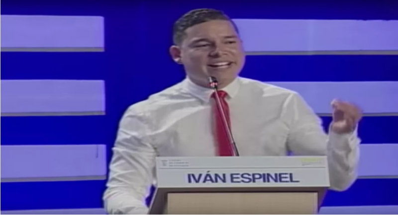 Candidato Iván Espinel