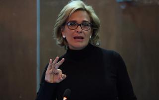 Cynthia Viteri candidata a la presidencia por el Partido Social Cristiano