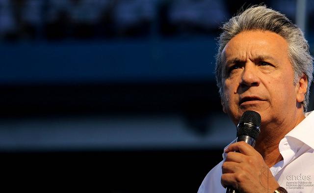 Lenín Moreno candidato a la presidencia por Alianza País
