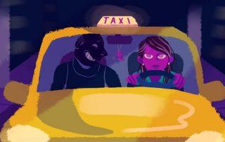 mujeres taxistas en Quito