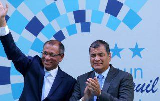 Correa acusa a Moreno de desleal