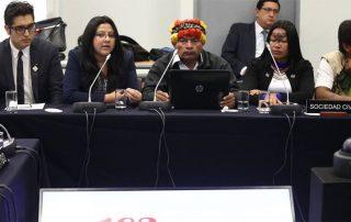 los pueblos indígenas no son consultados