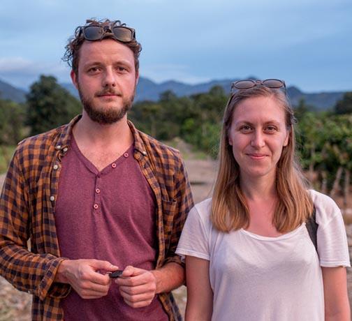 Mara Simperler y Lukas Wagner