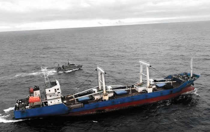 Pesca ilegal en Galápagos