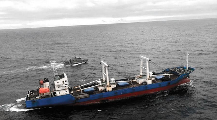 Pesca ilegal en Galápagos china