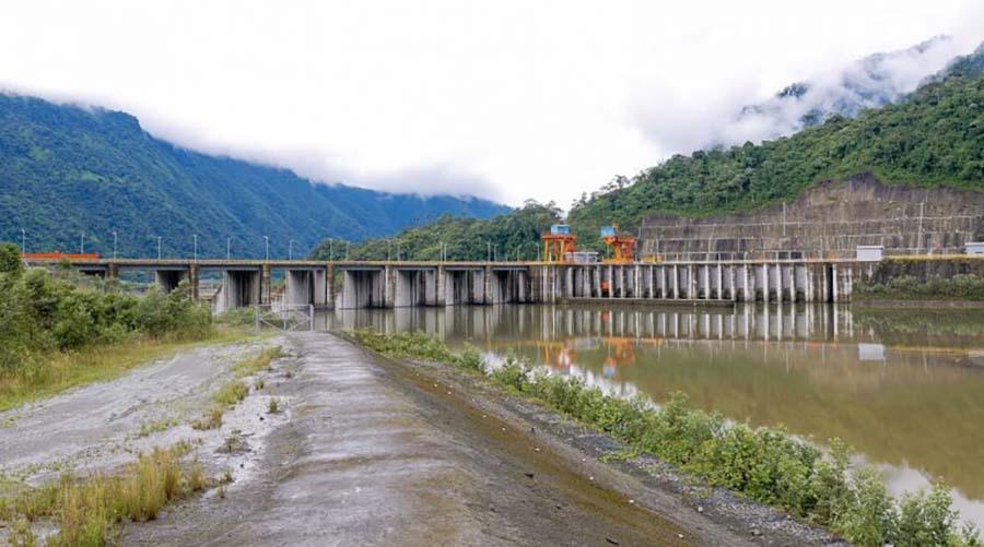 hidroeléctricas en Ecuador