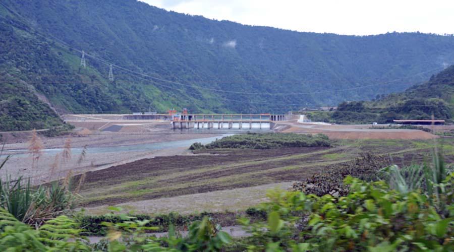 infraestructura hidroeléctrica Coca Codo Sinclair
