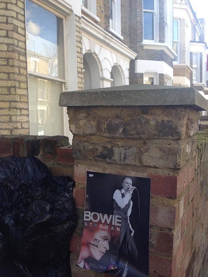 donde vivió David Bowie