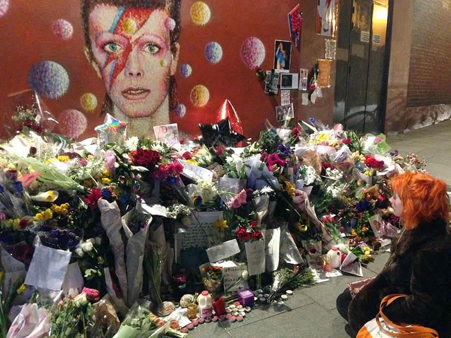 muerte de David Bowie