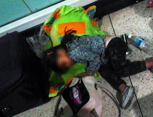 Ciento treinta niños chocan con la pared migratoria de Nicolás Maduro