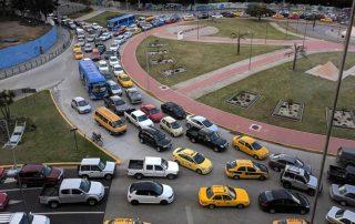 tráfico en Cumbaya