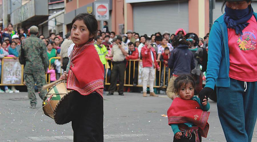 carnaval en Guaranda