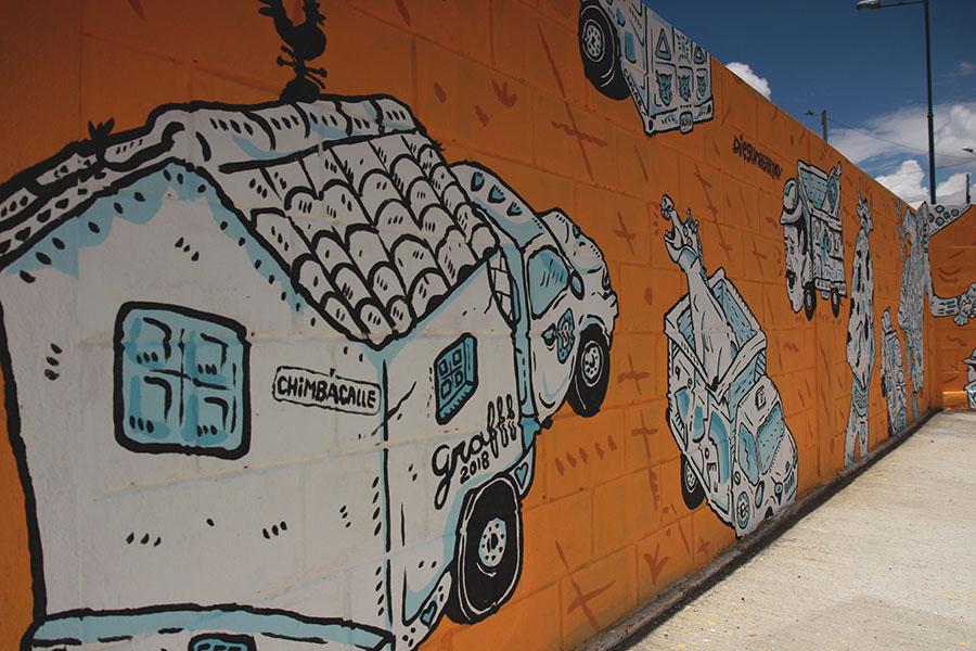 Graff festival en Pujilí