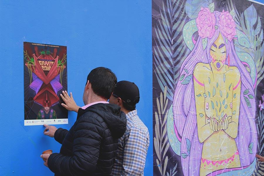 Grafff18 festival en Quito