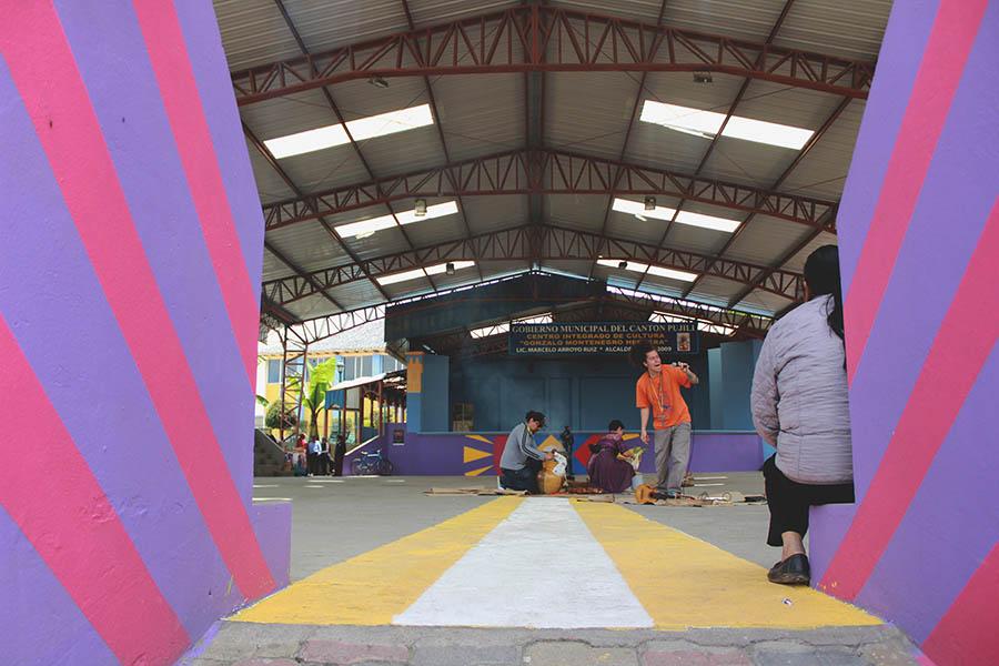 Grafff festival en Pujilí
