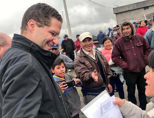 ¿Las nuevas vías de alcantarillado en el Camal Metropolitano de Guamaní benefician a dos mil personas?