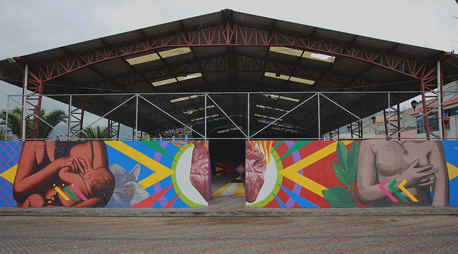 Graff18 festival en Quito