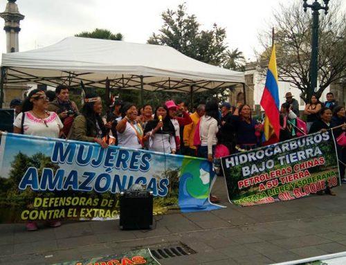 La lucha amazónica tiene voz de mujer