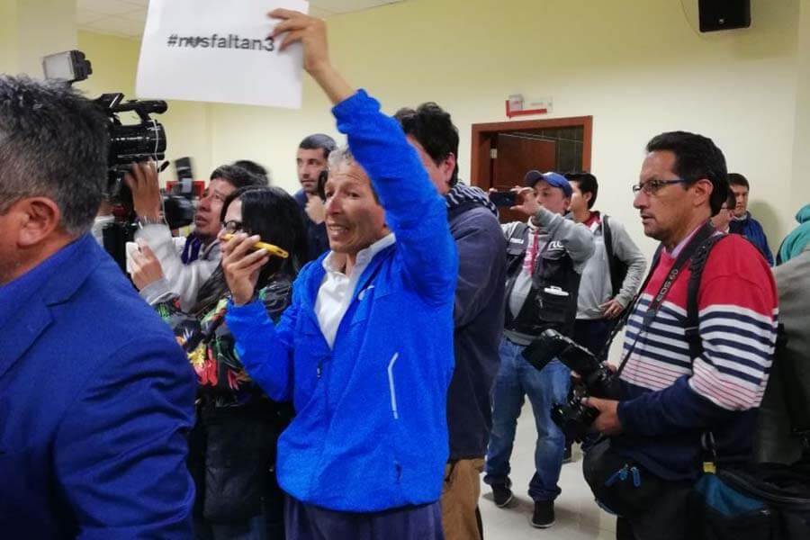 Las autoridades ofrecen rueda de prensa por los periodistas secuestrados