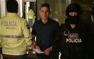 por qué está preso Iván Espinel