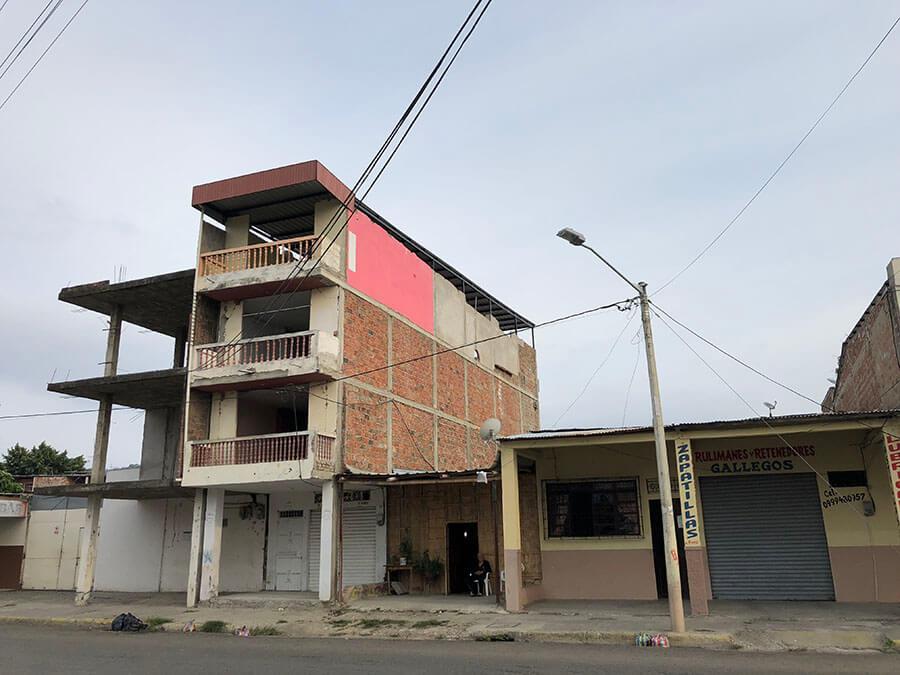 destrucción Portoviejo terremoto