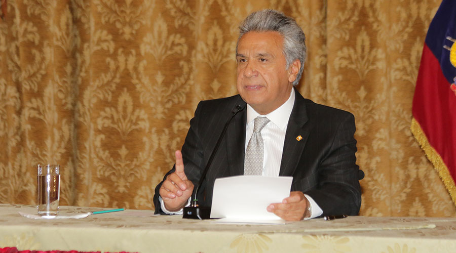 qué tan popular es Lenín Moreno