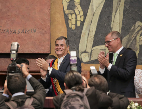 Rafael Correa, vinculado