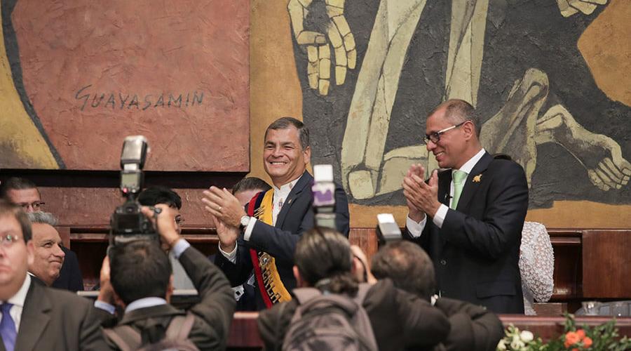 Correa vinculado al caso Balda