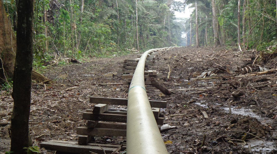extracción petrolera en el Putumayo