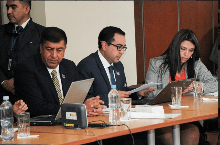El Fiscal General pidió la vinculación de Rafael Correa en el caso Balda. Fotografía de la Fiscalía General del Estado.