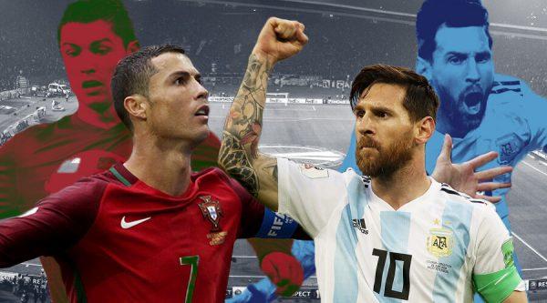 Lionel Messi y Cristiano Ronaldo, eliminados del mundial de fútbol 2018