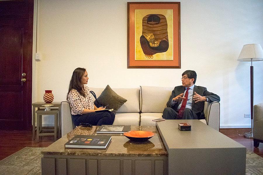 entrevista a José Valencia