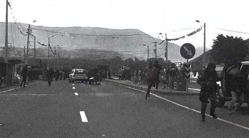 ejecución extrajudicial en Mascarilla