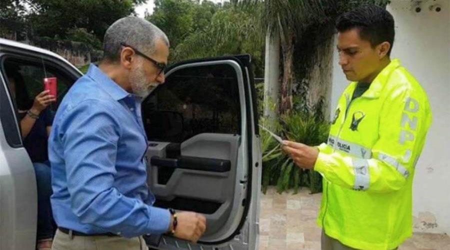 Fernando Alvarado detenido
