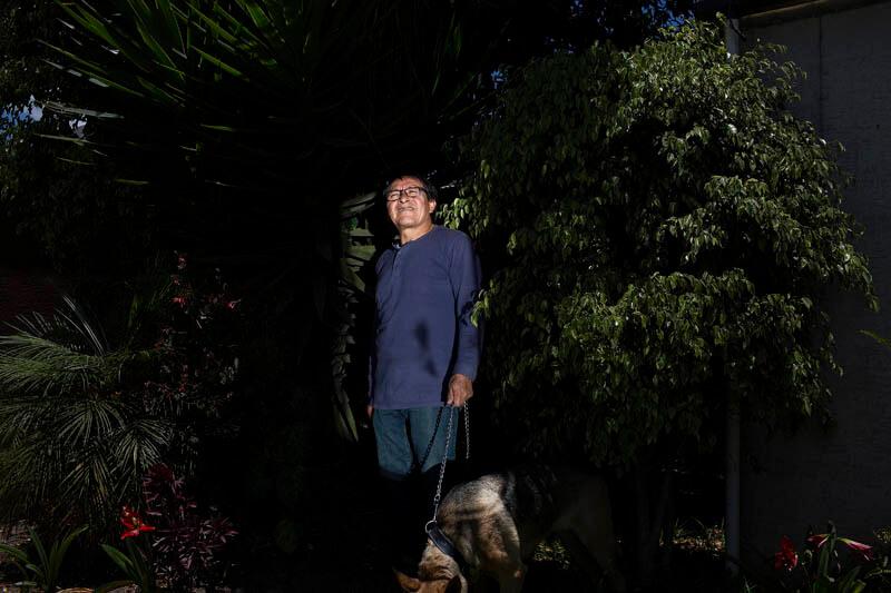 Galo Ortega, padre del periodista Javier Ortega.