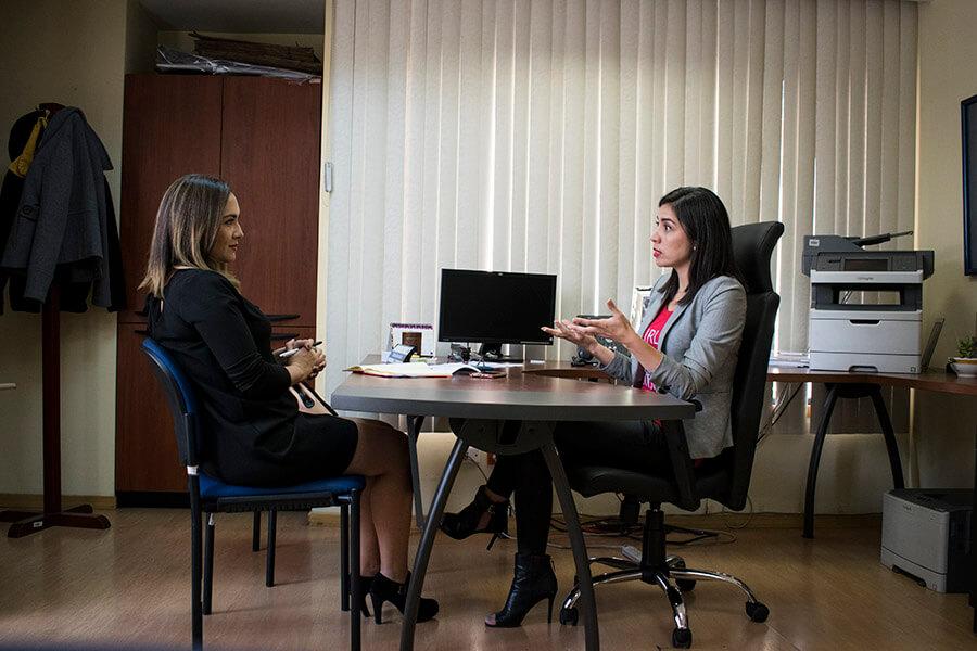 """""""Me parece un error compararnos con Guayaquil"""", Daniela Chacón. Fotografía de Lisette Arévalo para GK."""