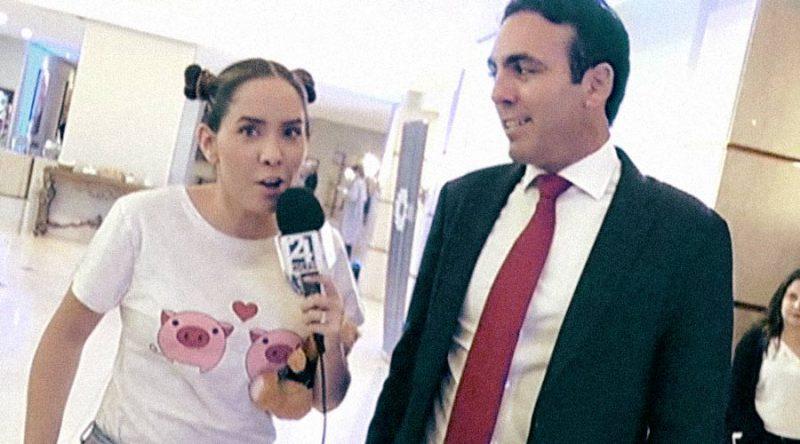 Captura de programa En Corto durante el día de la niña.