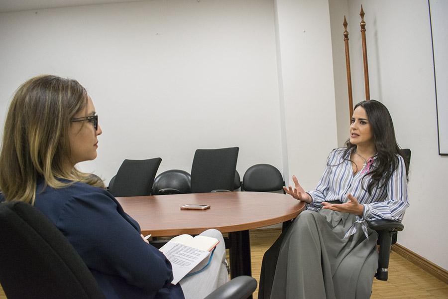 Paola Vintimilla, legisladora del PSC. Fotografía de José María León para GK.