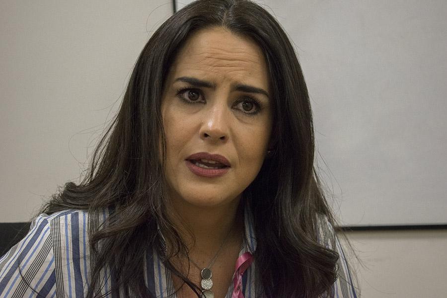 """""""Estoy satisfecha con mi trabajo"""", Paola Vintimilla. Fotografía de José María León para GK."""
