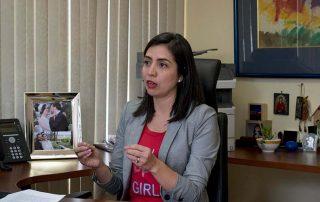 Daniela Chacón aspira a ser Alcaldesa de Quito. Fotografía de Lisette Arévalo para GK.