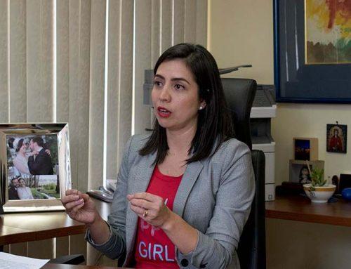 """Daniela Chacón: """"Con el alcalde Rodas empecé a tener problemas pronto. Creo que fui muy dócil."""""""