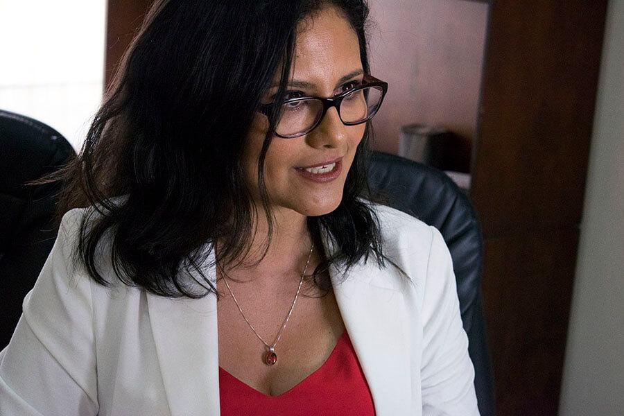 candidata a alcalde de Quito Natasha Rojas