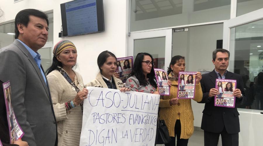 La espera de la familia de Juliana Campoverde continúa