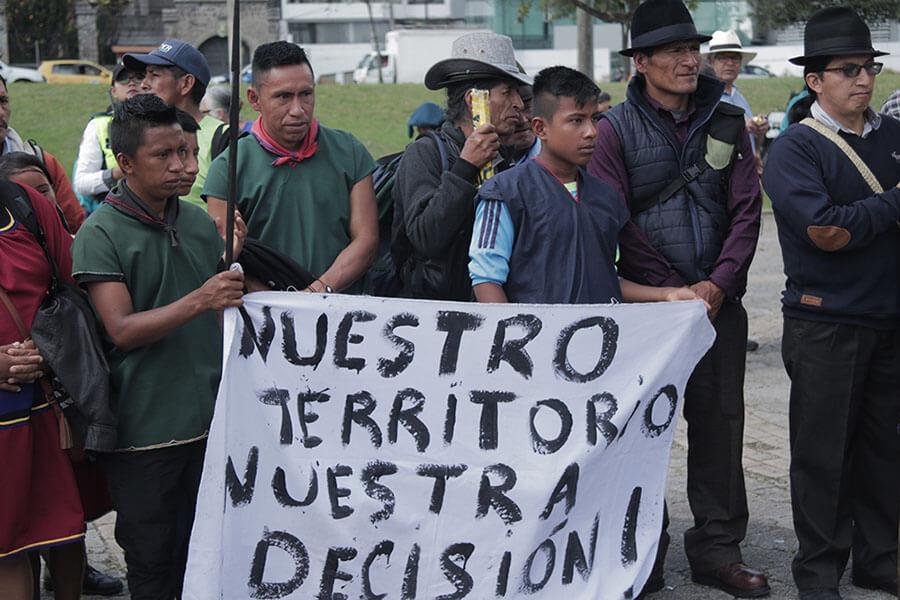 protestas contra gobierno de lenin moreno
