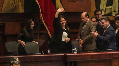 qué hizo maria alejandra vicuña como vicepresidenta