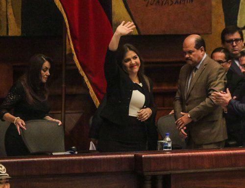 El legado de la vicepresidenta María Alejandra Vicuña