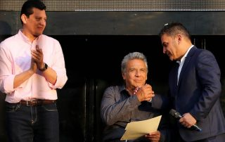 escenario político en el Ecuador 2019